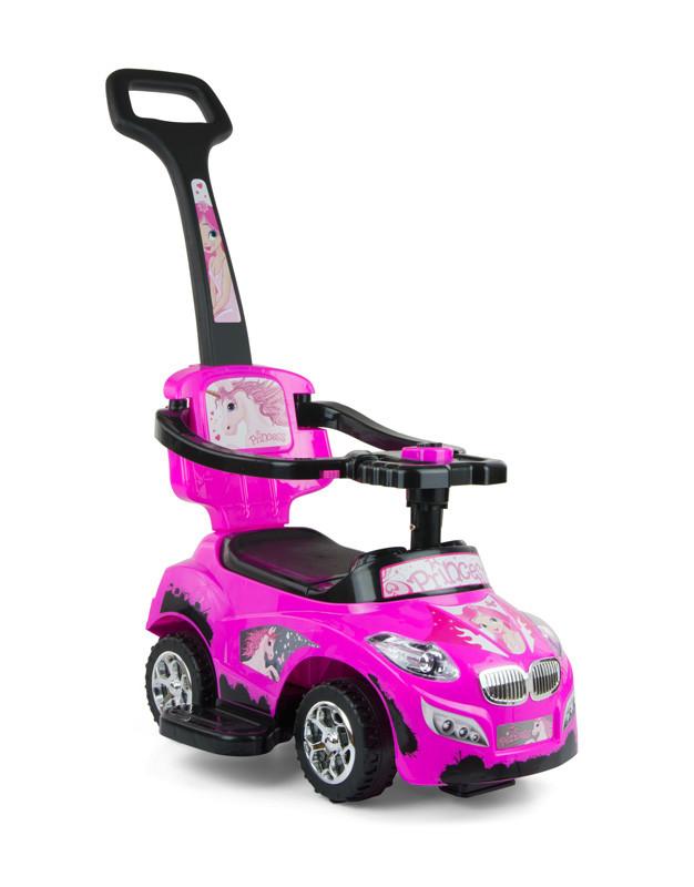 801 Машинка-каталка Happy ТМ Milly Mally (рожевий (Pink)) (TORG8011001)