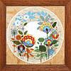 Crystal Art Цветочный груговорот Набор для вышивки нитками ВТ-1006
