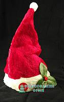 Шапка Деда Мороза танцующая и поющая - 30см