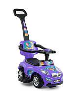 Машинка каталка Happy Milly Mally фиолетовая OR