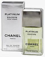 Туалетная вода для мужчин Chanel Egoiste Platinum (купить мужские духи шанель эгоист, лучшая цена на парфюм)