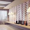 """Гипсовые  стеновые 3D панели """"Переплет"""" 500х500, фото 2"""