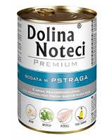 Dolina Noteci PREMIUM Консервы для собак с форелью 0,4 kg