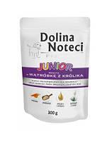 Dolina Noteci PREMIUM Junior Консервы для щенков с кроликом и овощами 0,3 kg