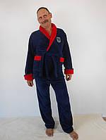 Мужской махровый домашний костюм Артем (размеры 48-54)