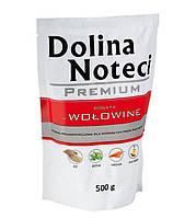 Dolina Noteci PREMIUM Консервы для собак с говядиной, овощами и рисом 0,5 kg