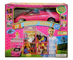 Кукольный домик с машиной My Lovely Villa 6981