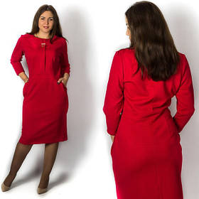 Короткие и длины миди однотонные платья