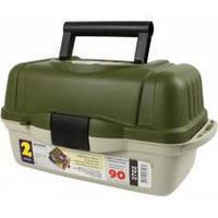 Ящик рыболовный aquatech 2702,  2 полки, товары для рыбалки, рыболовный ящик