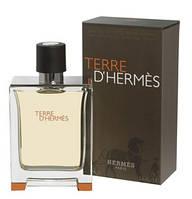 Мужская туалетная вода Hermes Terre D`Hermes шикарный цитрусовый аромат с нотками пачули, кедра и перца AAT