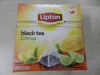 Чай Липтон в пирамидках