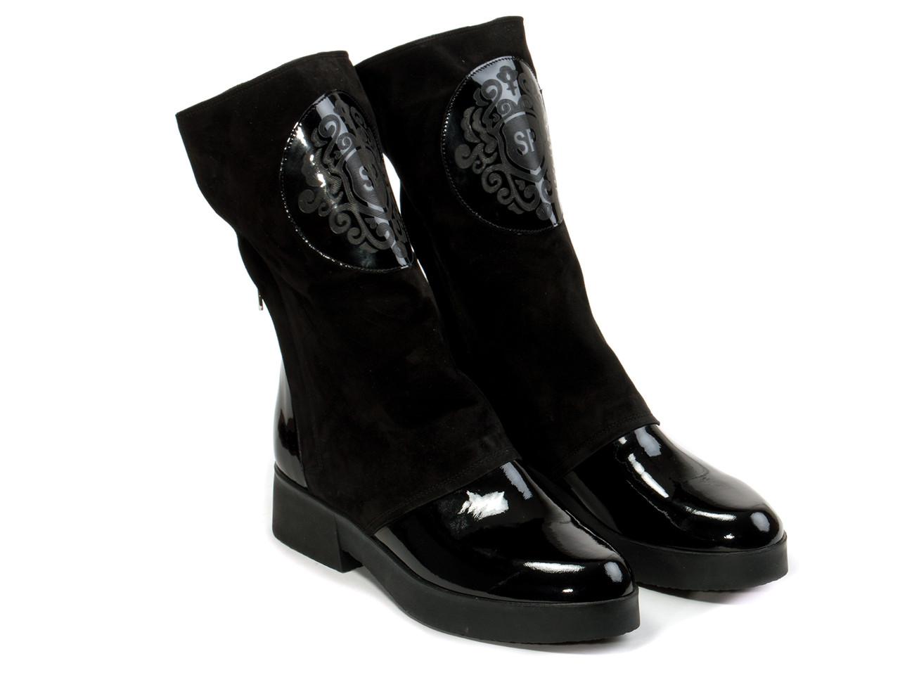 Ботинки Etor 4937-0-7235-1 черные