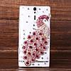 """Samsung G570 J5 PRIME оригинальный чехол панель накладка со стразами камнями для телефона """" PAWO CASE"""", фото 2"""