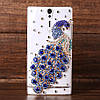 """Samsung G570 J5 PRIME оригинальный чехол панель накладка со стразами камнями для телефона """" PAWO CASE"""", фото 8"""