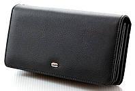 Мужской кожаный кошелек портмоне клатч мини барсетка ST натуральная кожа
