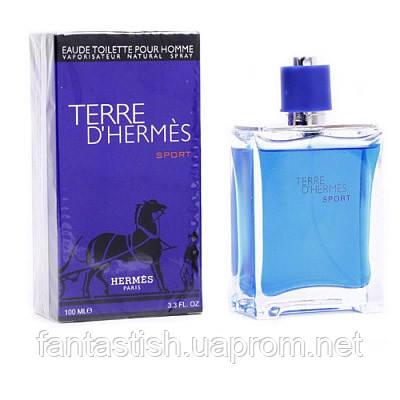 b89172e98ec5 Мужская туалетная вода Hermes Terre d Hermes Sport (купить мужские духи  эрмес, лучшие