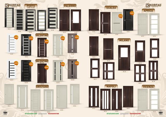 """Двери межкомнатные """"Korfad"""" итальянские дверные технологии"""