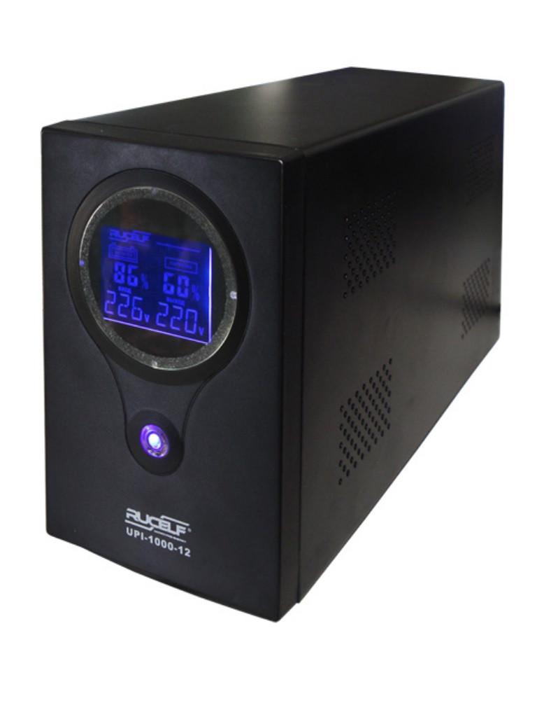 Бесперебойник RUCELF UPI-1400-24-EL - ИБП (24В, 1050Вт) - инвертор с чистой синусоидой