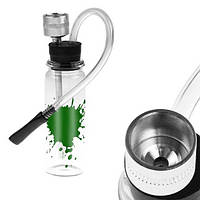 Мини-кальян для курения с трубкой и водяным фильтром (цвет случайный) SKU0000421