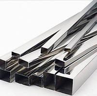 Труба стальная металлическая профильная 50*25 мм