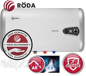 Водонагреватель (Бойлер) электрический RODA Aqua INOX 30 H (горизонтальный)