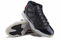 Баскетбольные кроссовки Nike Air Jordan XI 11 Retro Black 72-10, фото 1