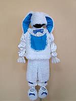 ПРОКАТ Новогодний карнавальный костюм Зайчик для мальчика, р.104-116см