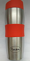 Термокружка Con Brio CB-338 (0.38л) красная