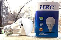 Светодиодная энергосберегающая  лампа LED E27 3W (Белый свет) UKC , светотехника, светильники