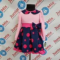 Плаття дитячі для дівчаток в горохи TYLKOMET.ПОЛЬЩА, фото 1