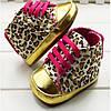 Пинетки-кеды леопардовые