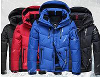 Мужской зимний лыжный  пуховик. Мужская зимняя куртка.  Модель 963, фото 5