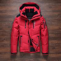 Мужской зимний лыжный  пуховик. Мужская зимняя куртка.  Модель 963