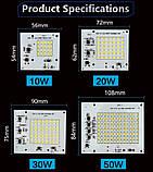 Smart IC SMD LED 30w 2700K Світлодіод 30w Світлодіодна збірка 2750Lm + Драйвер, фото 5