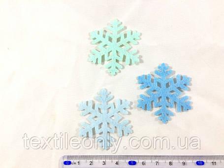 Нашивка снежинка , фото 2