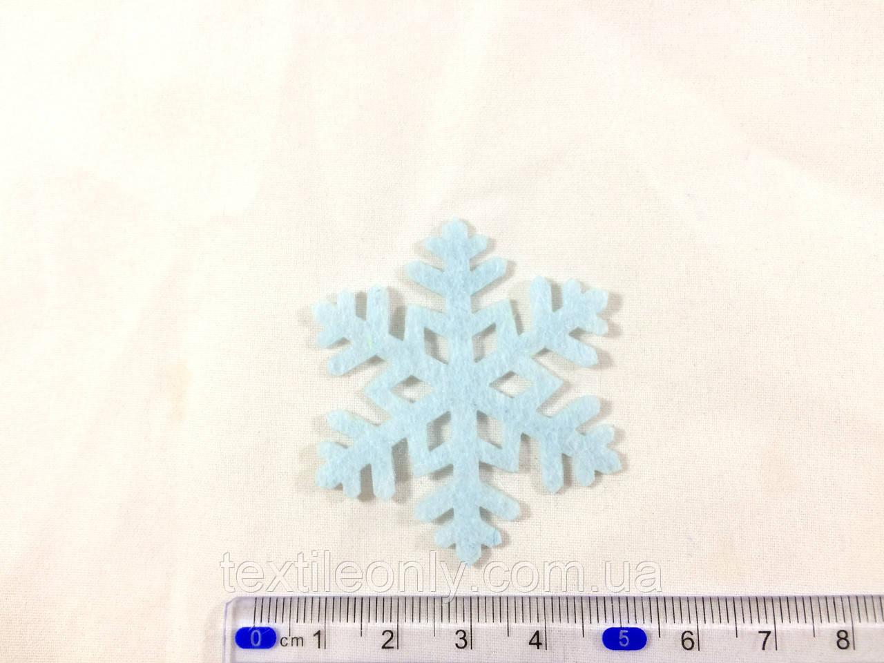 Нашивка снежинка