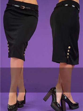 Женская классическая юбка, р.50, фото 2