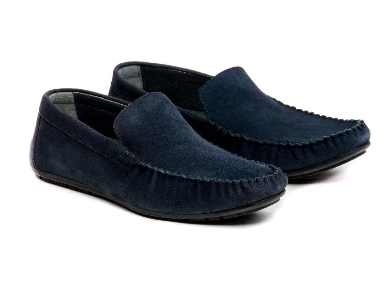 Мокасини Etor 10330-7060  синій