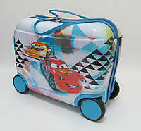 Детский чемодан на 4 колесах Тачки, Cars