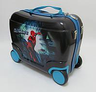 Детский чемодан на 4 колесах Человек Паук, Spider Man