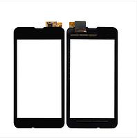 Сенсорное стекло для NOKIA 530 Lumia черное