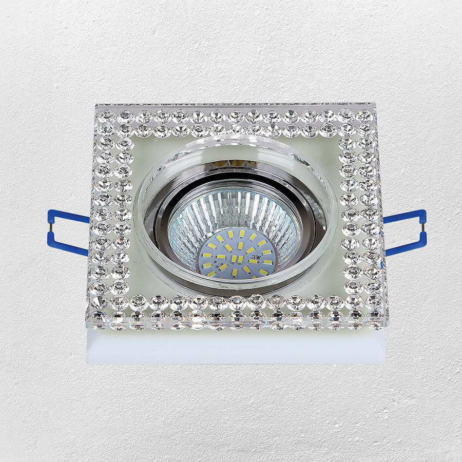 Точечный врезной светильник (модель 16- MKD086 MR16)