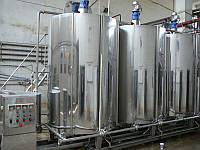 Оборудование производства молочных коктейлей