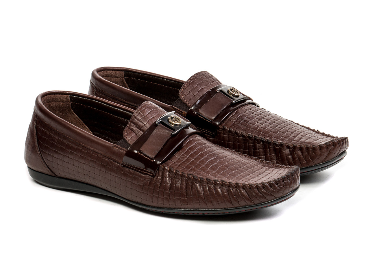 Мокасины Etor 13252-11601-52-199 43 коричневые