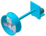 Вентилятор осевой  сушильный ВО-6.3 С