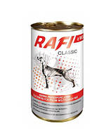 RAFI Classic Полнорационный корм для взрослых собак - мясные кусочки в соусе c Говядиной 1.25кг