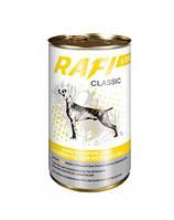 RAFI Classic Полнорационный корм для взрослых собак - мясные кусочки в соусе с Курицей 1.25кг