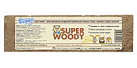 Super woody прессованная натуральная подстилка для грызунов с запахом лаванды 4л