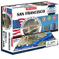 Пазл 4D Историческая модель Сан Франциско 1130 деталей