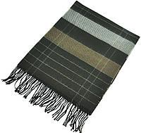 Мужской шарф 17485 коричневый